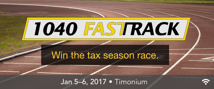 MACPA's 1040 Fast Track – A Comprehensive Individual Tax Seminar for CPAs and Their Staff