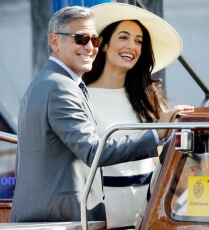 Amal Alamuddin and her husband strike a blow for equality