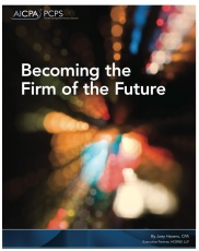 Five steps to creating the CPA firm of the future