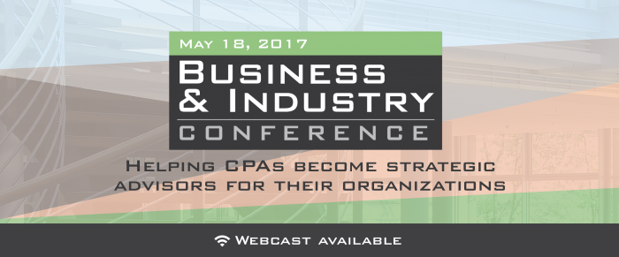 2017 Business and Industry Conference