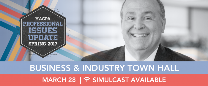 Business & Industry Spring Town Hall 2017 – Making History, Anticipating the Future