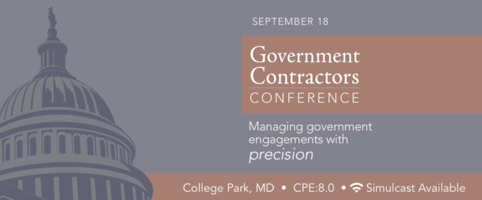 2017 Government Contractors' Conference
