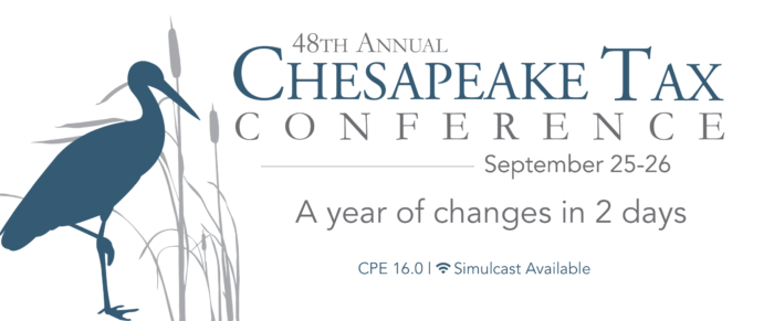 48th Annual Chesapeake Tax Conference