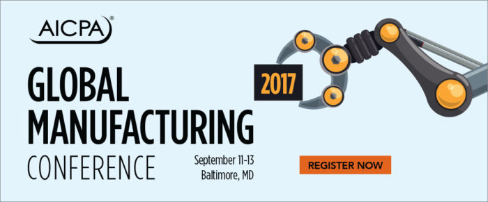 AICPA Global Manufacturing Conference