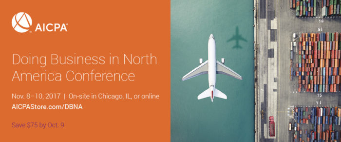 AICPA Doing Business in North America Conference