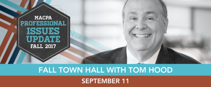 Fall Town Hall 2017: The Future Ready CPA – Anticipating Opportunities in a Sea of Change