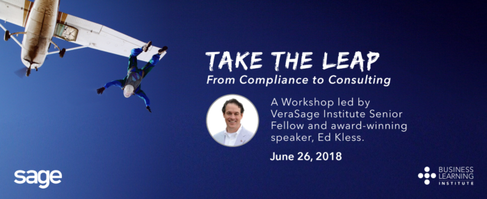 From Compliance to Consulting Workshop