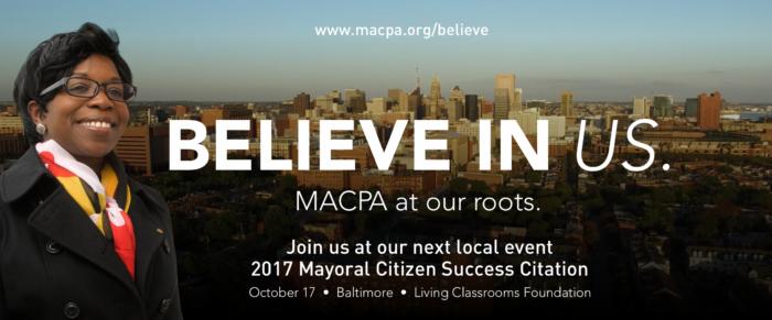 Believe in Us: 2017 Mayoral Citizen Success Citation