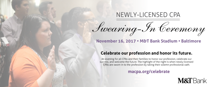 Newly-Licensed CPA Swearing-In Ceremony