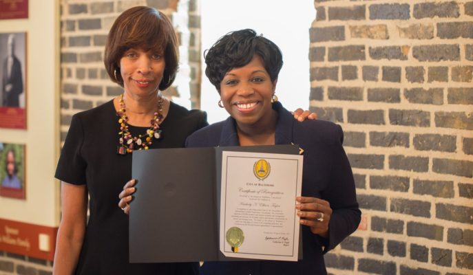 Baltimore mayor honors Maryland's Kimberly Ellison-Taylor with 'Citizen Success Citation'