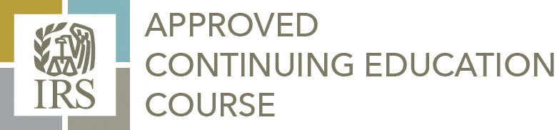 IRS Approved Continuing Education Course