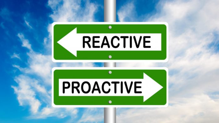 It's your time to be even more proactive!